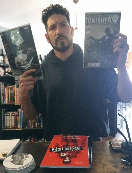 Here's Jon Bernthal getting more Punisher comics to prepare himself for his upcoming starring role in The Punisher from Netflix. Related Post He's Enjoying It The Punisher vs Cheap Plastic Wrestlers An Honest Confession about Secret Wars Before Frank Became Punisher!