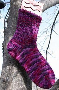 KB Sock Loom Knitting Instructions for Socks