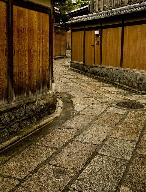 Back streets of Kyoto, Japan