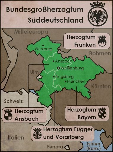 Federal Grand Duchy of South Germany