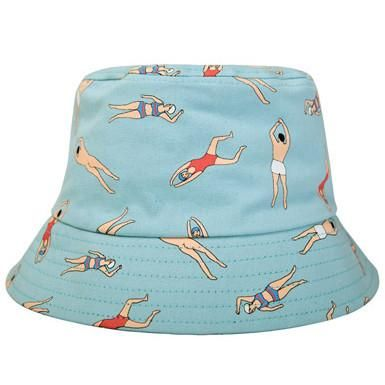 The Swimmer Bucket Hat