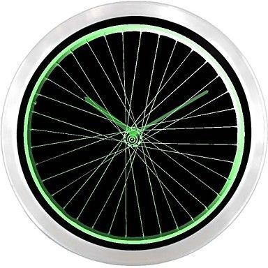 nc0917 Bicycle Shop Man Room Sport neonskilt LED vægur  – DKK kr. 354