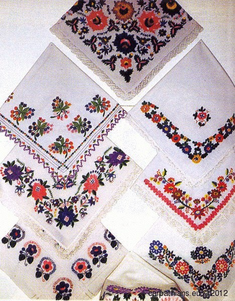 Lemko embroidery, Ukraine, from Iryna with love