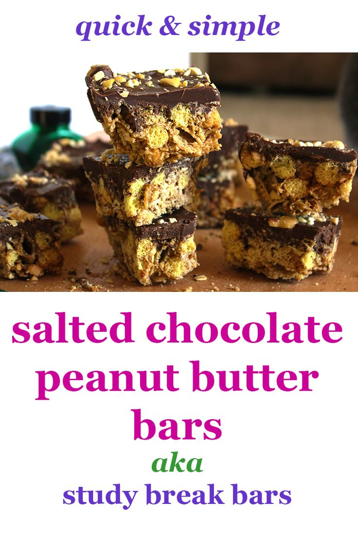 Super Easy Sweet & Salty Chocolate Peanut Butter Bars