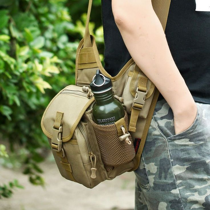 Outdoor Tactical Shoulder Bag Molle Messenger Bags Military Crossbody Bags //Price: $39.99 & FREE Shipping //     #tacticalgear #survivalgear #tactical #survival #edc #everydaycarry #tacticool #hunting #camping #outdoors #pocketdump #knives #knifeporn  #knife #army #gear #freedom #knifecommunity #airsoft