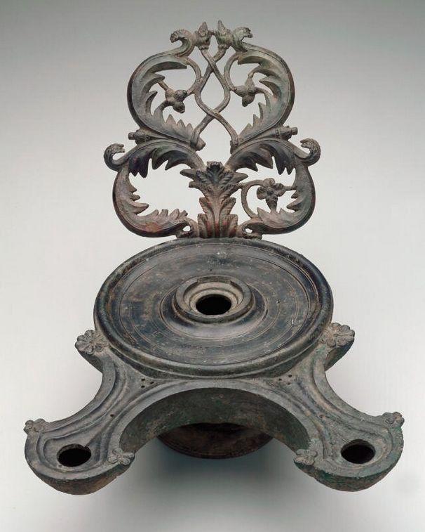 Oil Lamp - Roman 1st century B.C.-A.D. 1st century. | The Minneapolis Institute of Arts.