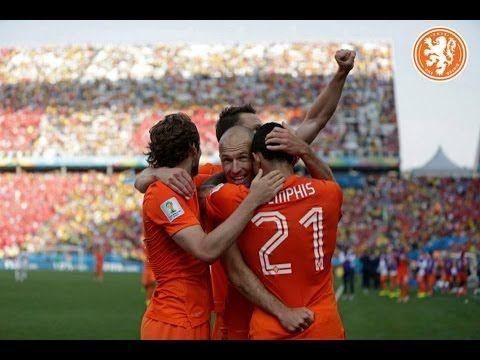 Samenvatting Nederland-Chili (2-0), WK 2014