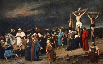 MIHÁLY MUNKÁCSY (1844-1900): GOLGOTHA (1884)