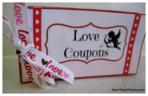 Valentines Day Love Coupons