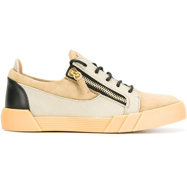 Giuseppe Zanotti Design Frankie sneakers ($695) ❤ liked on Polyvore featuring men's fashion, men's shoes, men's sneakers, nude, giuseppe zanotti mens sneakers, giuseppe zanotti mens shoes, mens leather sneakers, mens flat shoes and mens lace up shoes