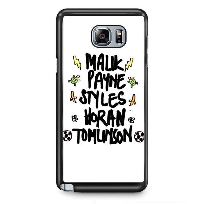 One Directin Names TATUM-8189 Samsung Phonecase Cover Samsung Galaxy Note 2 Note 3 Note 4 Note 5 Note Edge