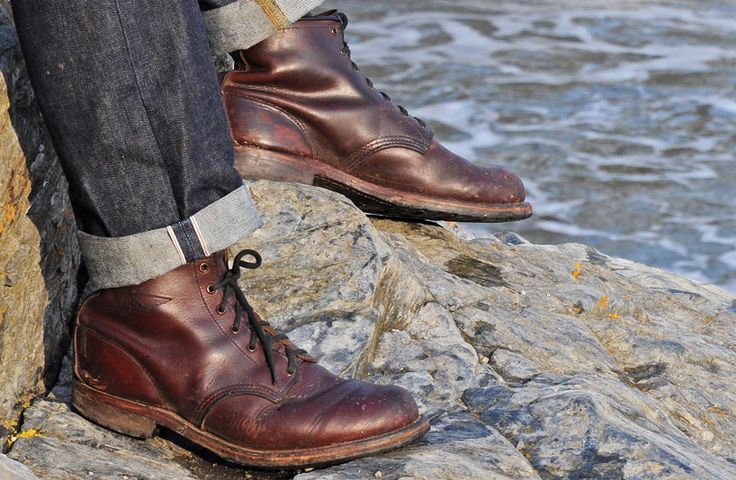 Red Wing Beckman's and selvedge denim