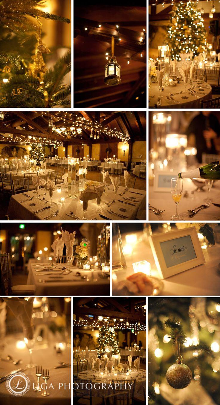 December wedding.