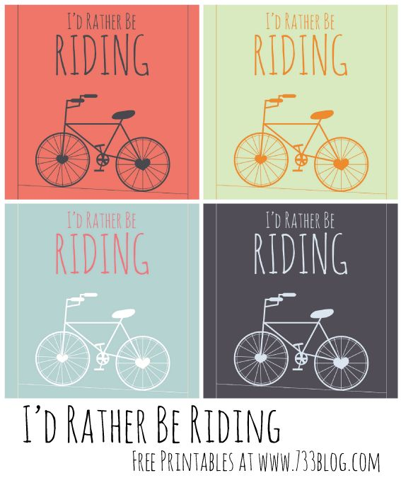 seven thirty three - - - a creative blog: Biking is a Passion {Free Printables}