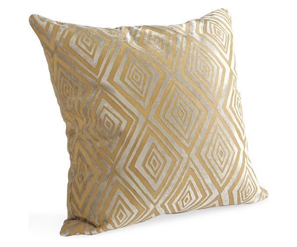 Diamond camel pillow pillows accessories room for Room and board pillows