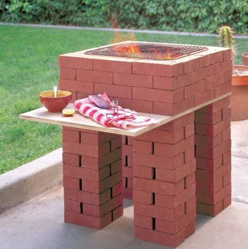 DIY Brick Oven - always wanted one of these! Here's an interesting take on it.