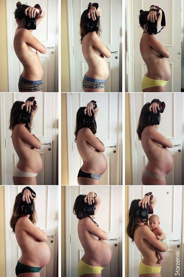 9mois de grossesse / 9 months of pregnancy