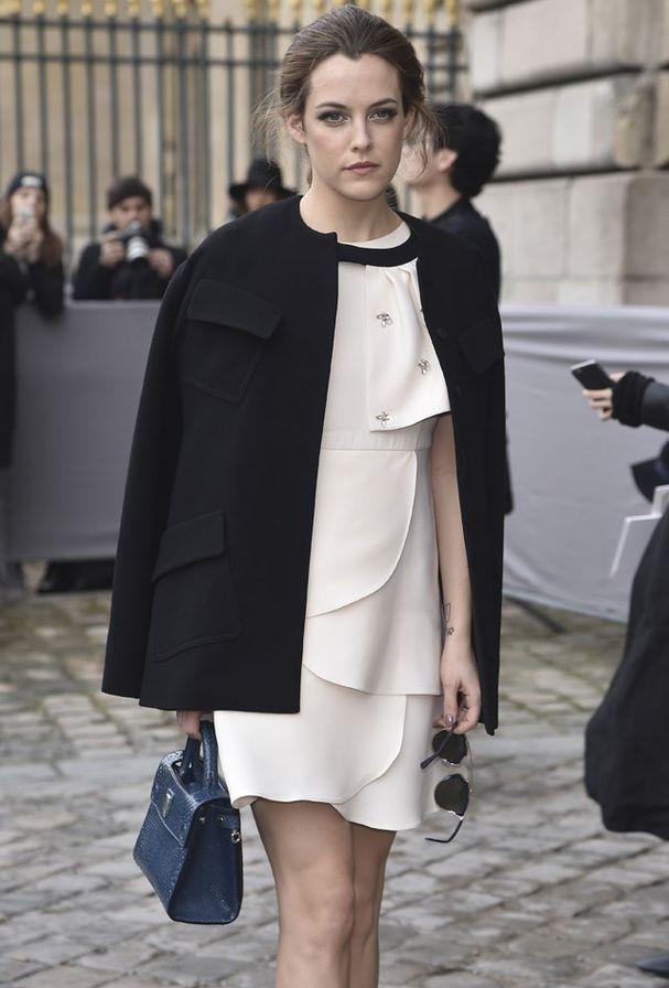 Riley Keough au défilé Dior