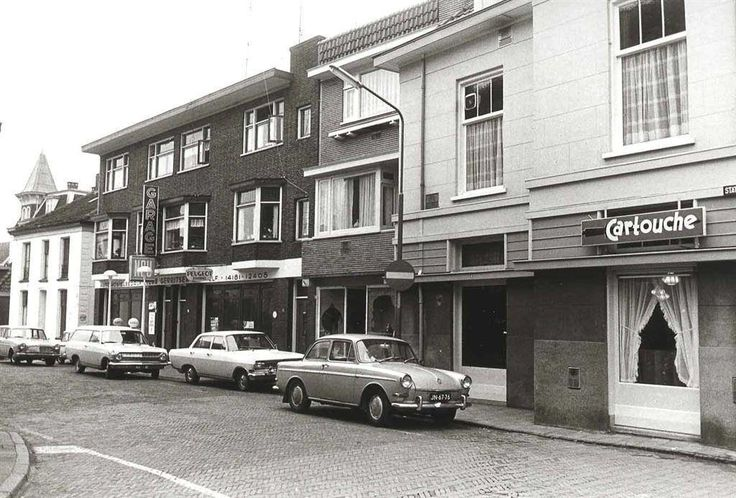 Stationdwarsstraat Apeldoorn (jaartal: 1970 tot 1980) - Foto's SERC