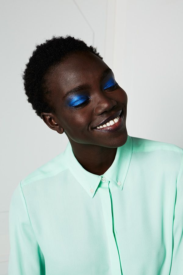 Love the eye makeup. Month of spring trends #6. Photo by Geordy Pearson.