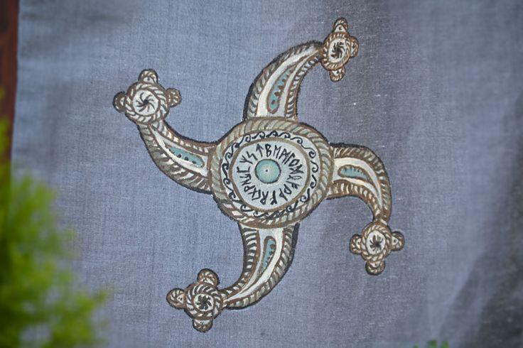 Textile bag - ancient symbol of power