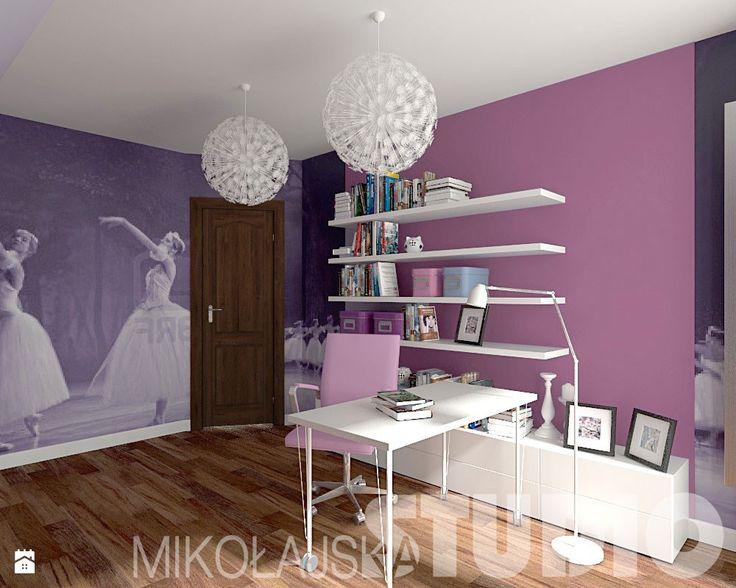 Zdjęcie: Pokój dla dziewczynki - Pokój dziecka - Styl Vintage - MIKOŁAJSKAstudio