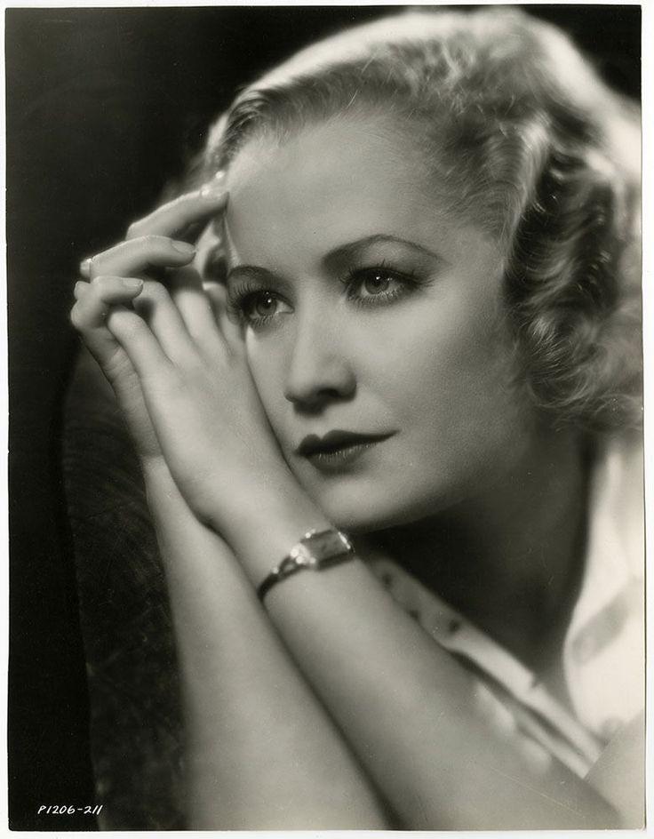Beautiful Vintage 1930s Miriam Hopkins Rare Sensual Art Deco Glamour Photograph