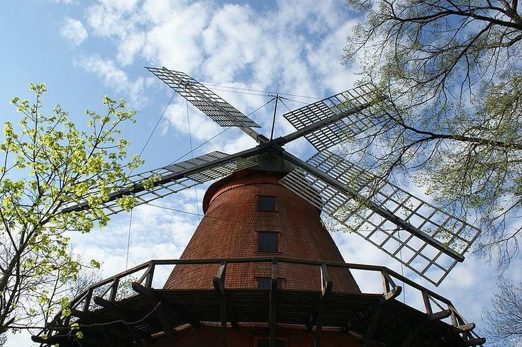 Alte Mühle in Samppalinna #Turku