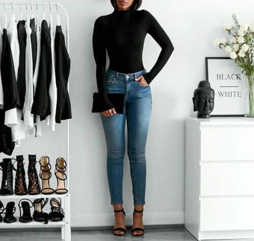 9 Glamorous Outfits with Excessive Waist Denims