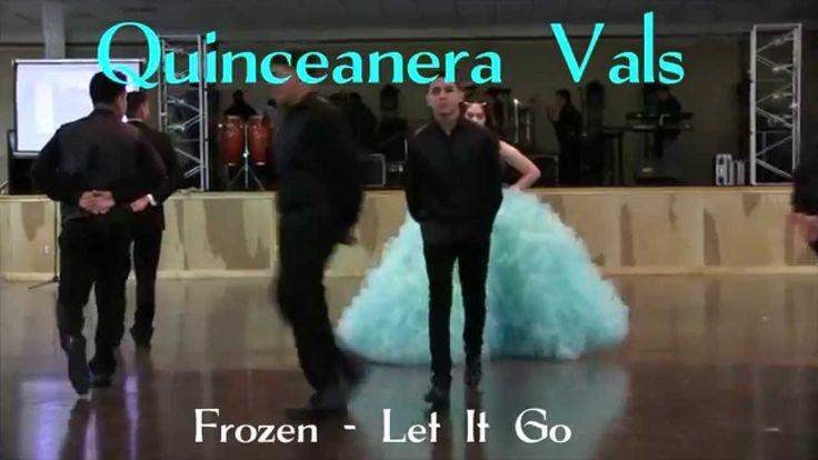 Daisy Garcia Quinceanera Surprise Dance   Baile Sorpresa  Frozen Let It ...