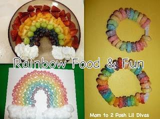 Rainbow Themed Snacks & Fun with Froot Loop Activities. yum!
