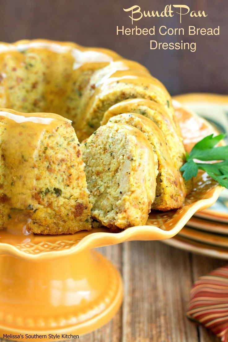 If you're looking for a fun way to serve a classic dressing this Thanksgiving look no further.  I developed this Bundt Pan Herbed Cornbread Dressing to be featured on Parade's Community Table and in the Thanksgiving issue of Relish magazine.  I was tasked with writing a Thanksgiving buffet menu with serving tips and recipes keeping it...Read More »