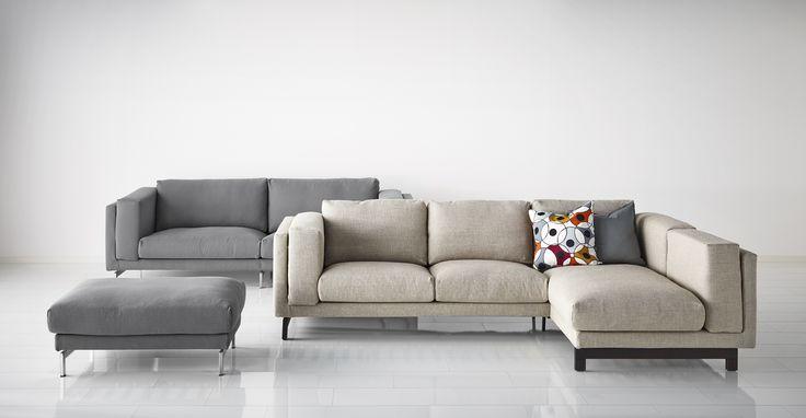 série canapés tissu NOCKEBY IKEA