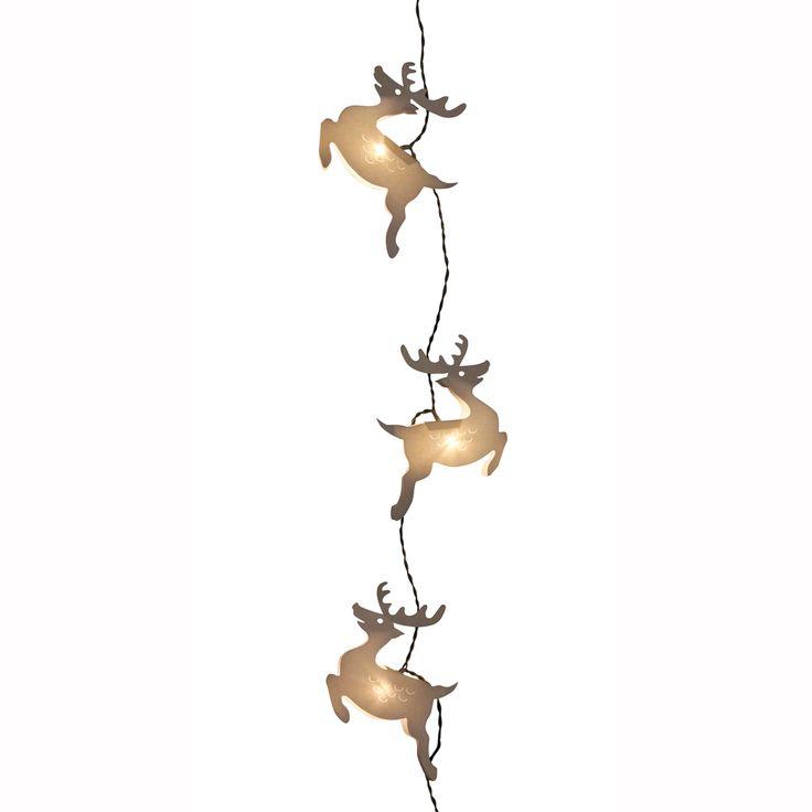 Reindeer Event Decoration Accessories http://www.29june.com/index.php/string-lights.html