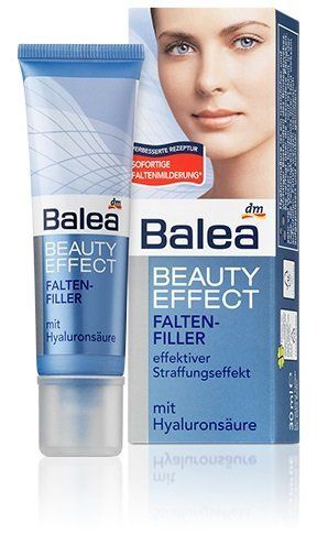 Balea Beauty Effect Wrinkle-Filler – To Plump-Out Wrinkles & Smooth Facial Lines – Not Tested on Animals – 30 ml by Balea - http://best-anti-aging-products.co.uk/product/balea-beauty-effect-wrinkle-filler-to-plump-out-wrinkles-smooth-facial-lines-not-tested-on-animals-30-ml-by-balea/