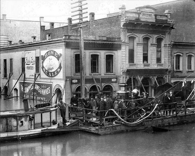 Historic Portland Oregon | Portland, Oregon during the historic June 1894 flood | Flickr - Photo ...