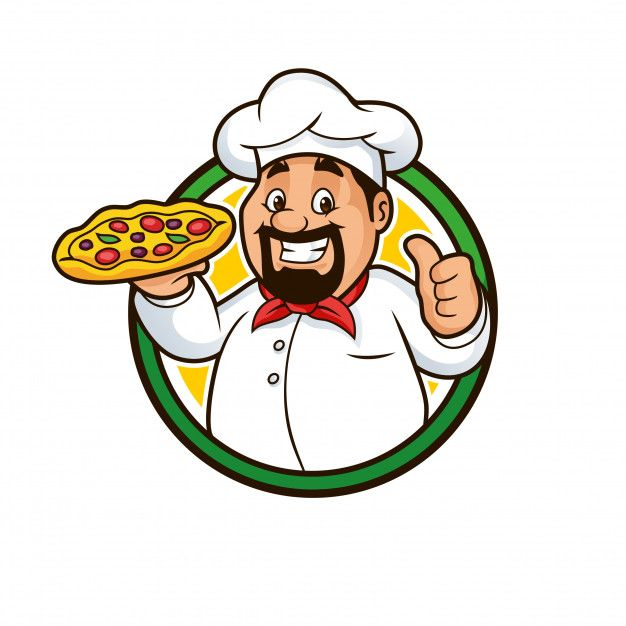 Discover Thousands Of Premium Vectors Available In Ai And Eps Formats Pizza Chef Pizza Logo Cartoon Character Design