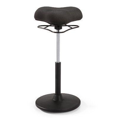 Meelano Office Ergonomic Stool Upholstery: Black #ergonomicofficechairs