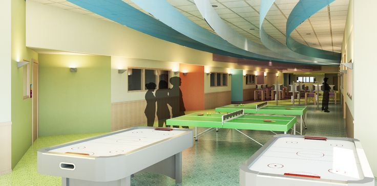 Within interior design youth center within 39 s portfolio for Youth center architecture