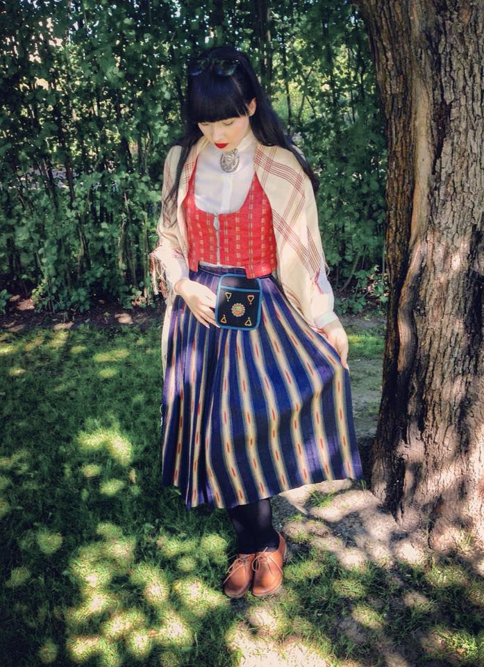 Kansallispuku, Lapua, Suomi Folkdräkt, Lappo, Finland Folk costume, Lapua, Finland