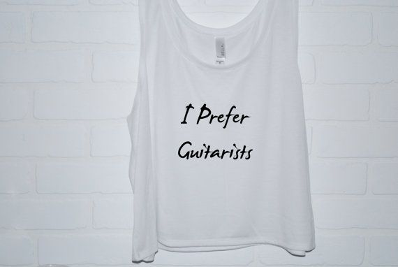 I Prefer Guitarists Michael Clifford Tank Top 5 by TheFeelsFactor I would very much like this please