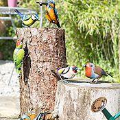 La Hacienda Set of 3 Metal Birds