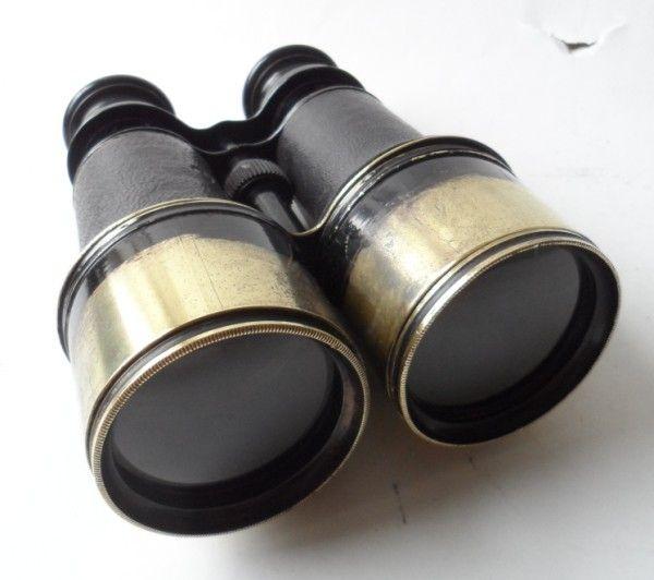 Antique Victorian Binoculars Jumelle Marine French Navy Brass Circa 1880s 1900s Boer War WW1 Period £55 #FollowVintage