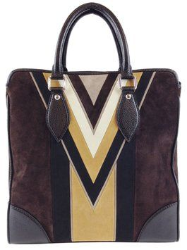 Louis Vuitton Limited Edition Lv Suede Brown Messenger Bag at Max Pawn 702-253-7296 www.maxpawnlv.com