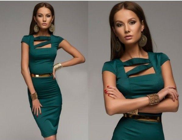 изумрудного цвета платье ниже колена - Google Search