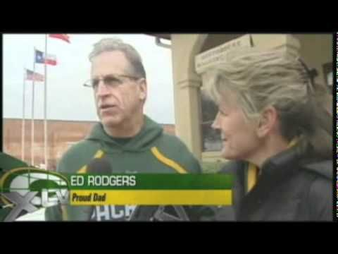 Aaron Rodgers' parents are so nice and unassuming that a Texas news crew was interviewing a couple from Chico, CA about the Fort Worth cattle drive and found out that they were actually the parents of Aaron Rodgers.