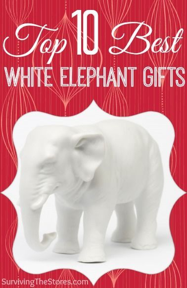 These are awesome!!  Top 10 funniest white elephant gift ideas that everyone will be fighting over!