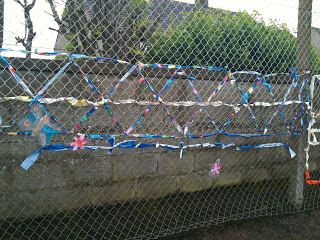10 Best Chain Link Fence Art Images On Pinterest Fence