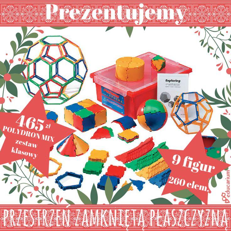 """Zobacz wszystkie klocki z serii POLYDRON i nie zamykaj myślenia przestrzennego """"w pudełku"""" braku doświadczeń namacalnych przestrzeni http://www.sklep.educarium.pl/educarium.php?section=1&sub=szukaj&szukanafraza=polydron"""
