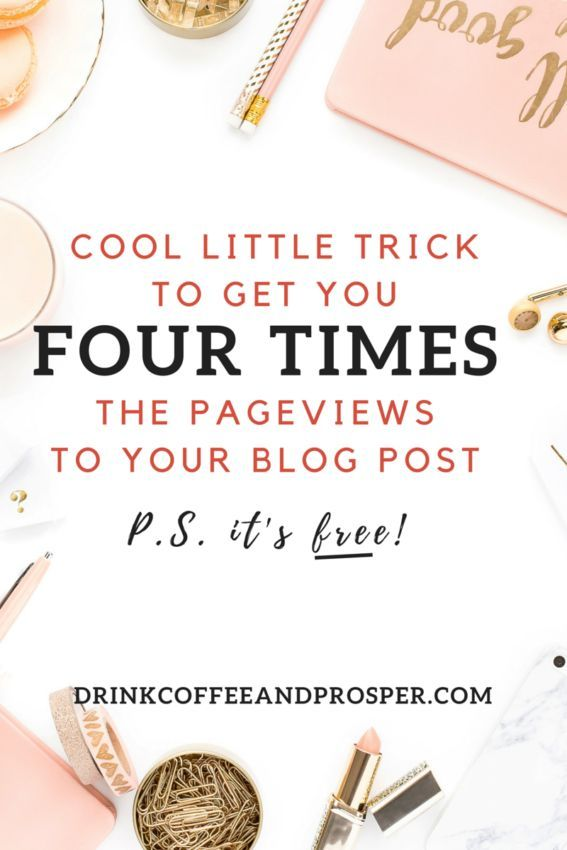 COOL LITTLE TRICK TO GET YOU 4X THE PAGEVIEWS TO YOUR BLOG POSTLearn The World